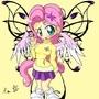 Chibi fluttershy by Da-Chibi