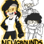 Newground's girls by peppermeek