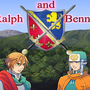 Ralph & Bennet: title-screen by phantomofthewii