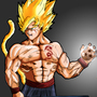 Goku My version by rosecicmil