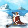 King of the Penguins by MochilaMuerte
