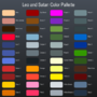 Leo and Satan Color Palette by Oney