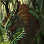 Forest Dragon by Louise-Goalby