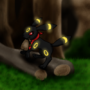 Umbreon by LunarVulpine