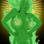 Green Flame, from JLA by ultrafem