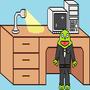Executive Frog by OnlyDonkey