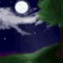 Peaceful Night by Walkingpalmtree
