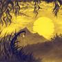yellow sunset by cristianemi