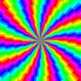 rainbow swirl by Chandlerklebs