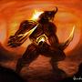 Fiery Beast by adamkav