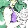 She Hulk by miteeka