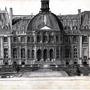 Pencil drawing of building by Treborre