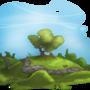 Stylized Landscape by Izzy-A
