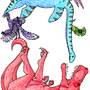 D as in Dinosaur by SuperLaserBeamPanda