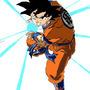 Goku Kamehamha 2 by LinkFableNova