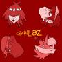 Gorillaz by oneXII