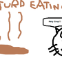 Turd Eating Cat by cabierojaden