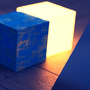 Glowing Cube by Carck