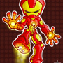 Chibi Iron Man by Masebreaker