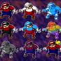 Many Marios by Masebreaker