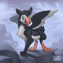 Art Trade: Puffin Gryphon by toshema