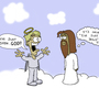 Jelous Jesus by SenileRobot