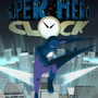 Super Hero Clock by Jess-The-Dragoon