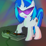 Vinyl Scratch by Wivernryder