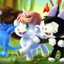 Unico and Friends by jaxxy