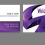 Wild Tangent Business Cards by JWDesignCenter