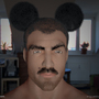 Human Mickey by Nahuije