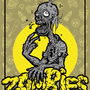 """Zombies"" Drozophile Poster by Letal"