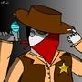 Robo Cowboy by KylzQ