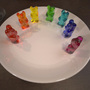 Rainbow Gummi Bears by Vertlain