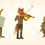 Musicians of hte woods by Oelbachtaucher