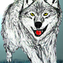 White Wolf by Lugen
