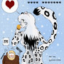 Krista The Happy Snow Leopard by Hardcover