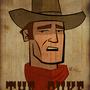 John Wayne by DeepFriedNeil