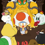 Toad: Wrong Castle by sneakyferret