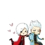 Dante and Vergil by VooDooDollMaster