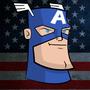 Captain America by DeepFriedNeil