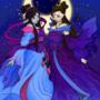 Goddesses of the moon by Nanashi-Hikaru