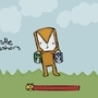 Castle Crashers - Game Over. by AIDSMcGuff