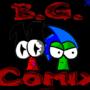 B.G. Comix Logo 09' by Invaderzip