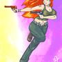 Buxom Redhead by FortressRubbish