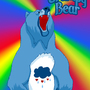 Grumpy Bear by TheProphetsThree