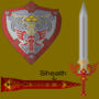 Royal Family Sword and Shield by QuazzanBrandes