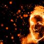 Self Portrait: Fire by Ruso198