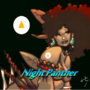 Ebony the night panther by airman4