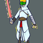 Jedi master chief Altair by torithefox